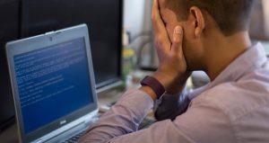 Work data loss