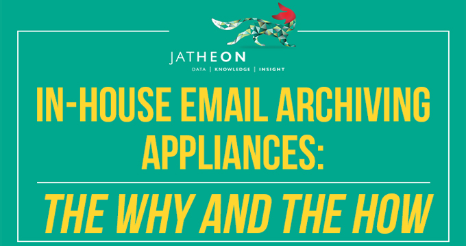 How an Archiving Appliance Works with Your Existing IT System: Archiving in Action [Infographic]