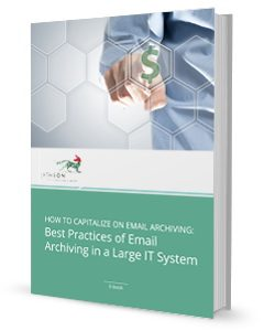 Best Practices of Email Archiving in a Large IT System ebook cover