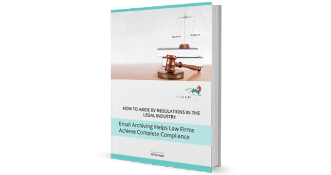 Email Archiving Helps Law Firms Achieve Complete Compliance cover