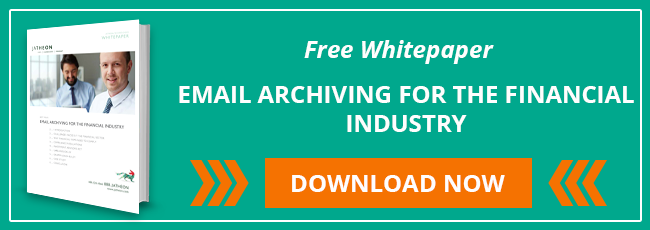 Download free whitepaper - Email Archiving For The Financial Industry