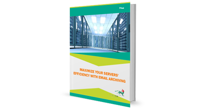Maximize Your Servers' Efficiency with Email Archiving cover