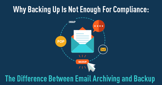 Why Backing Up Is Not Enough for Compliance [Infographic]