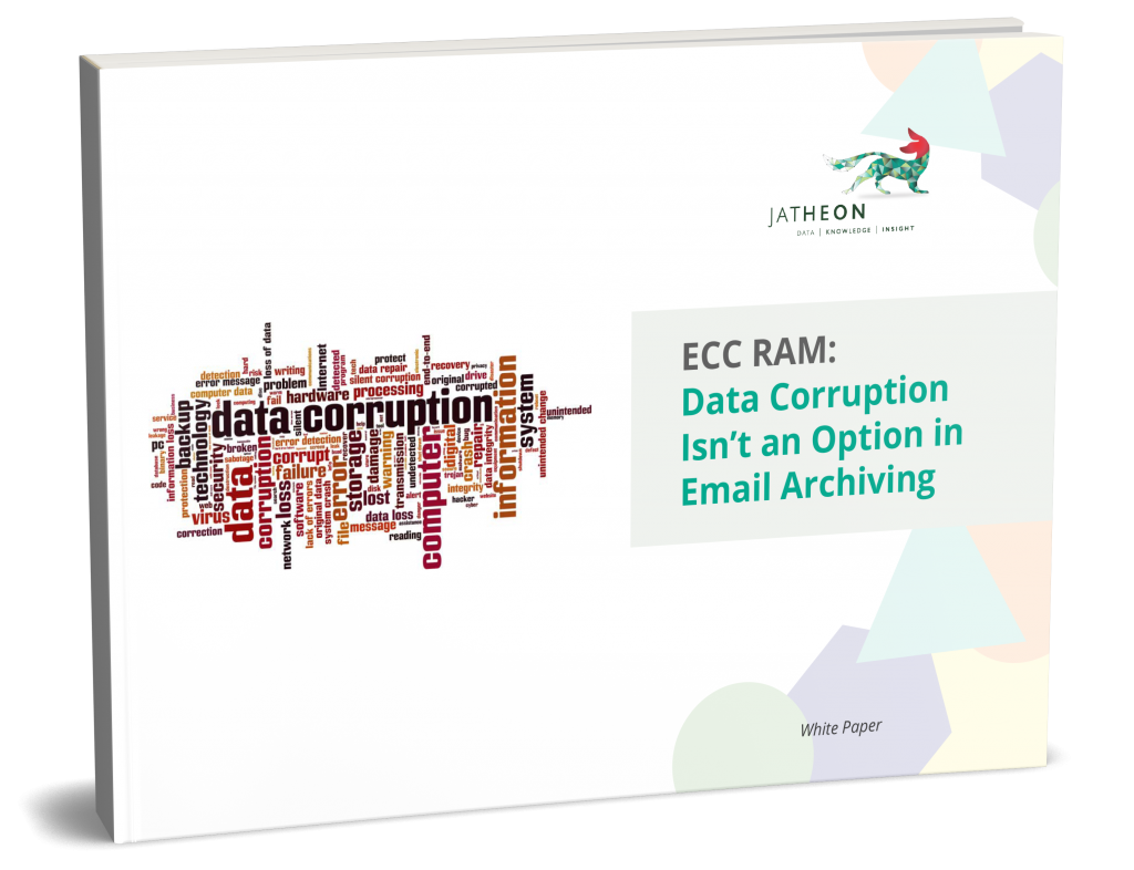 ECC RAM: Data Corruption Isn't an Option in Email Archiving [Whitepaper]