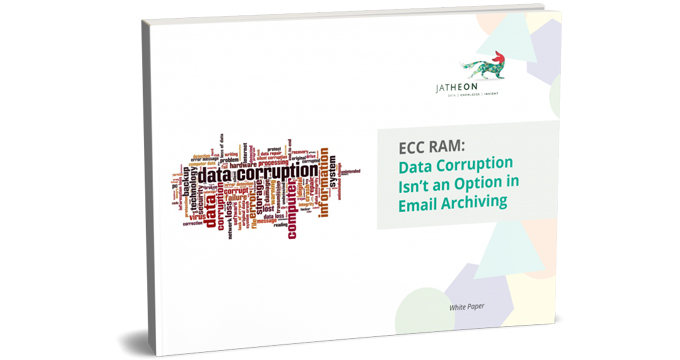 ECC RAM – Data Corruption Isn't an Option in Email Archiving cover