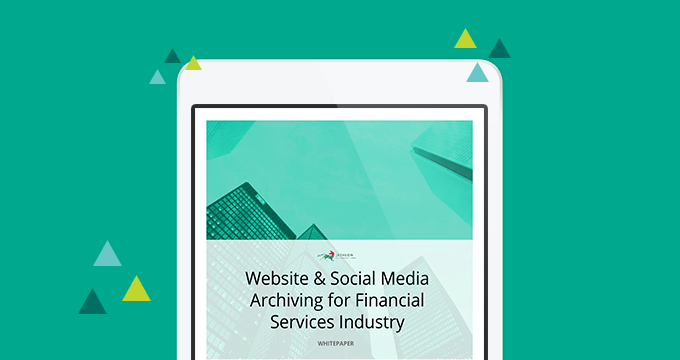 Website & Social Media Archiving for Financial Services Industry [Whitepaper]