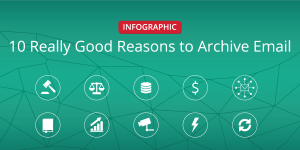 Jatheon Infographic – 10 Really Good Reasons to Archive Email – Social Media