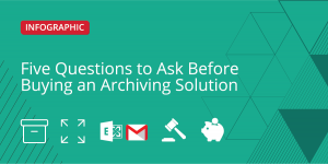Five Questions to Ask Before Buying an Archiving Solution – Social Media