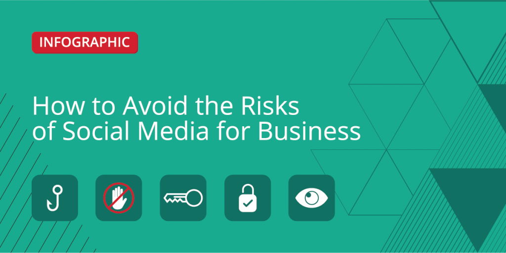 How to Avoid the Risks of Social Media for Business [Infographic]