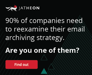 Email Archiving in 2019 Webinar banner