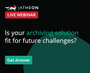Choose the Right Email Archiving Solution Webinar banner