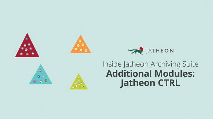 On-Premise Email Archiving – Jatheon CTRL Module