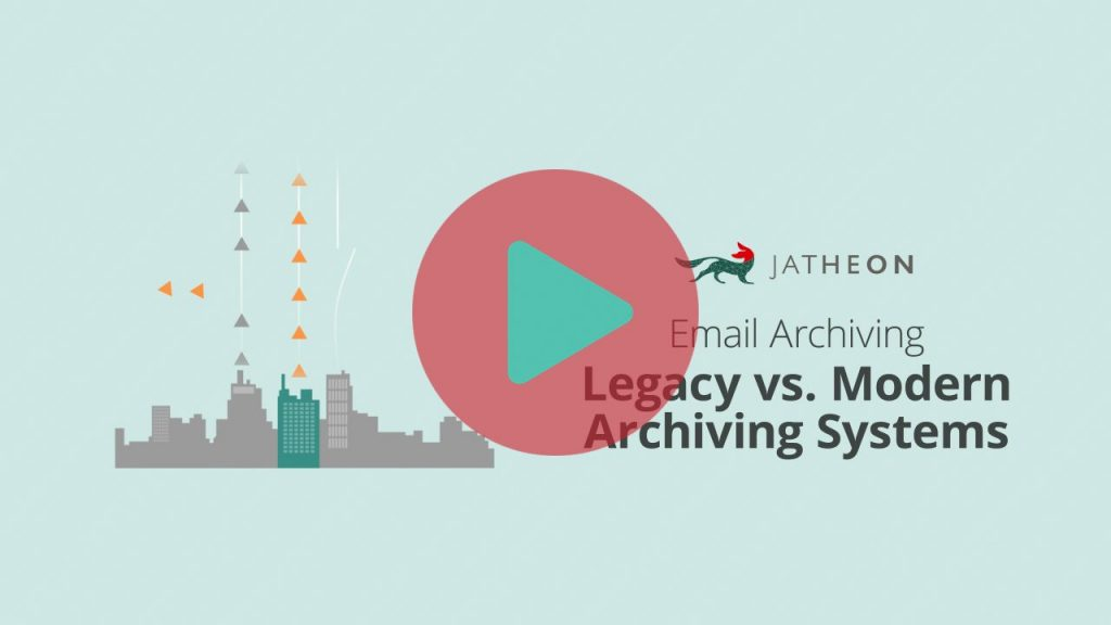 Email Archiving Legacy vs Cloud Archiving Systems Video