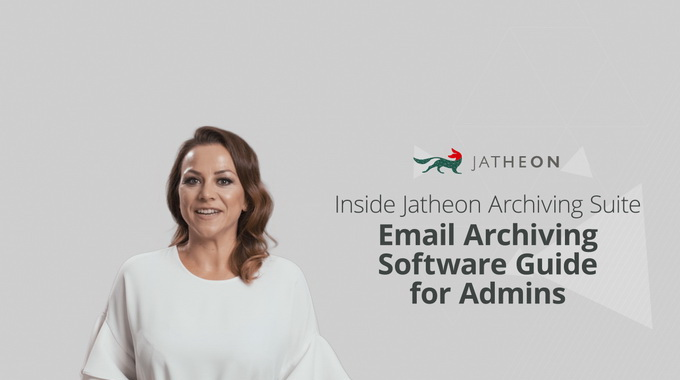 On-Premise Email Archiving Software Guide for Admins