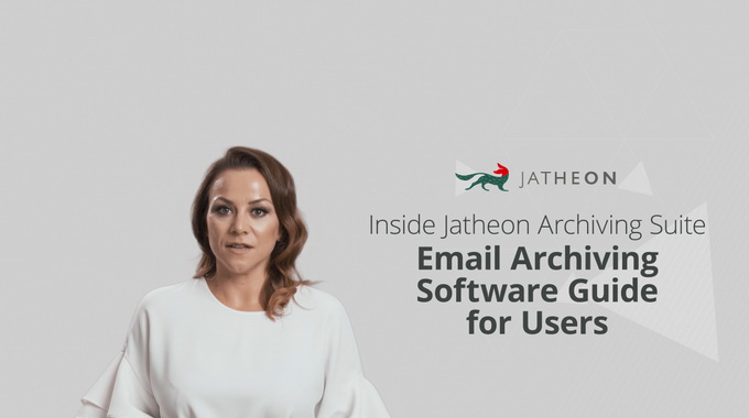 On-Premise Email Archiving Software Guide for Users