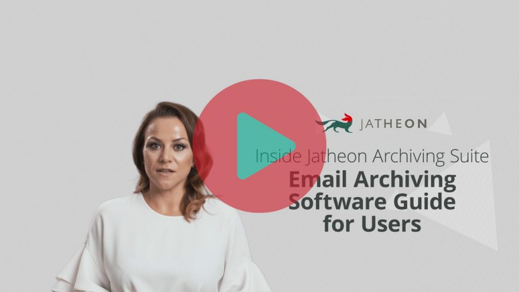 Email Archiving Software Guide for Users Video Preview