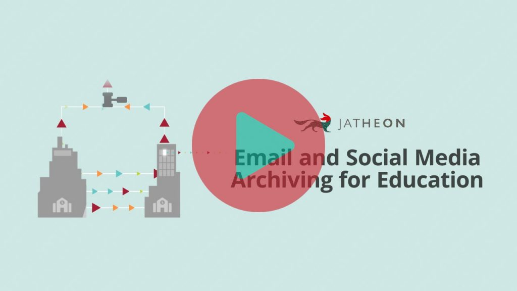Email and Social Media Archiving for Education Video
