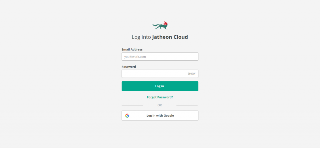 Jatheon Cloud Single Sign-On