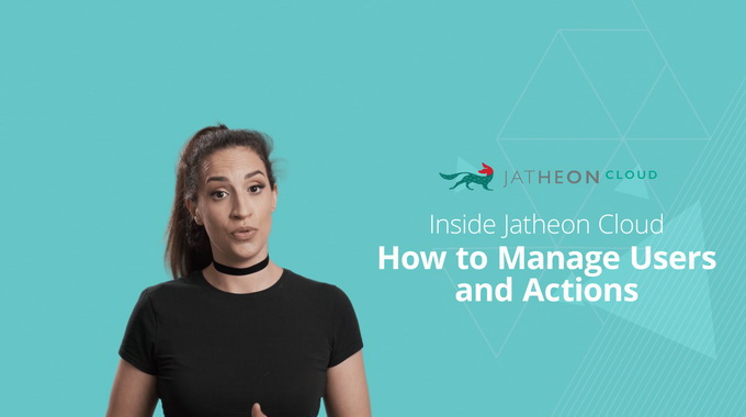 Cloud Email Archiving – How to Manage Users on Jatheon Cloud