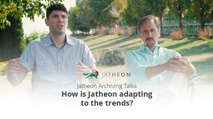 Archiving Talks - The Future of Jatheon in the Email Archiving Market Video