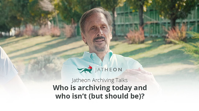 Archiving Talks - Who Should Be Archiving Email Video