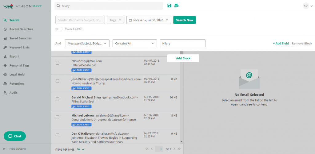 Jatheon Cloud - Retention tag 2