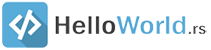 Helloworld RS logo